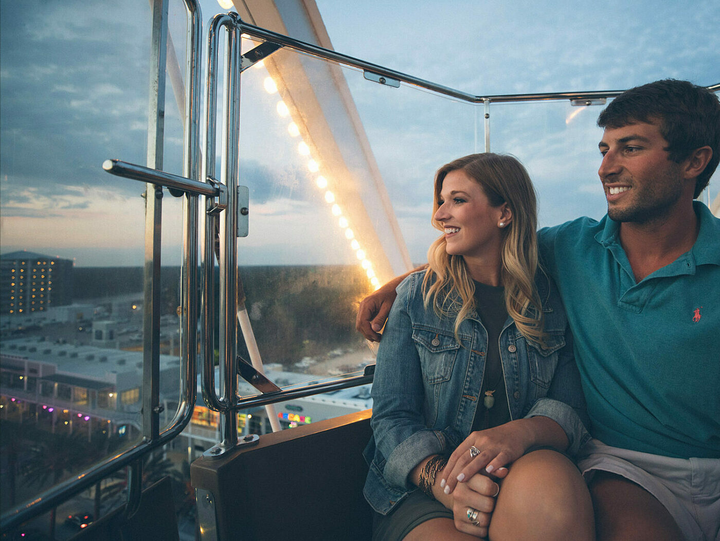 The Wharf Orange Beach Ferris Wheel Date Night