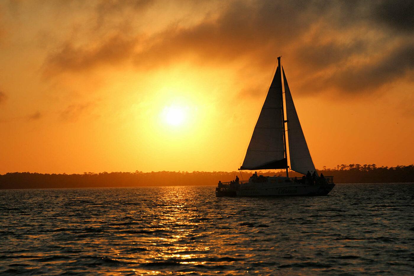 The Wharf Orange Beach Cetacean Cruises Sunset Dolphin Cruise