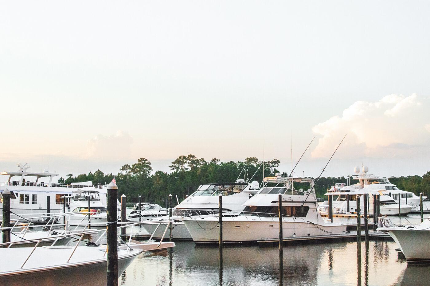 The Wharf Orange Beach Marina Boat Slip Rental